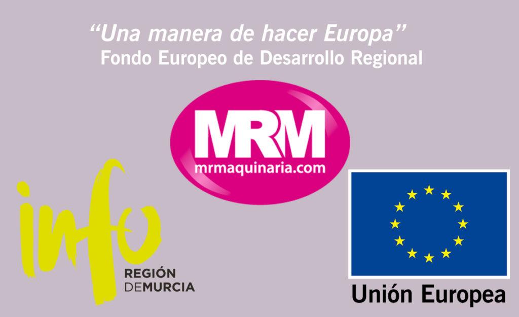 MRM Maquinaria, beneficiaria del Fondo Europeo de Desarrollo Regional