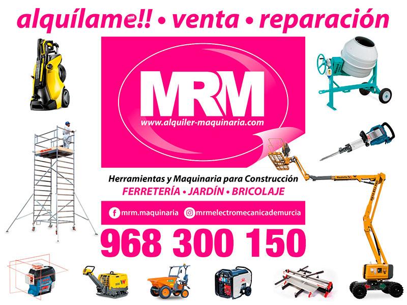 MRM alquiler de maquinaria y reparación, venta de herramientas online